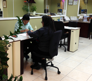 Fancy Fingers total nail care salon, tinting and waxing