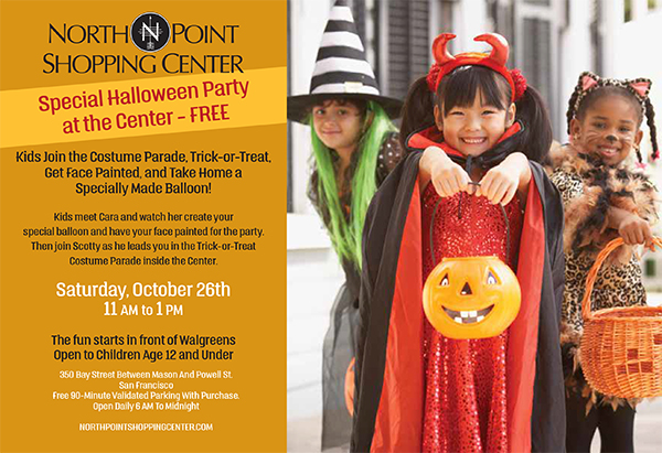 NorthPoint Shopping Center Special Halloween Party